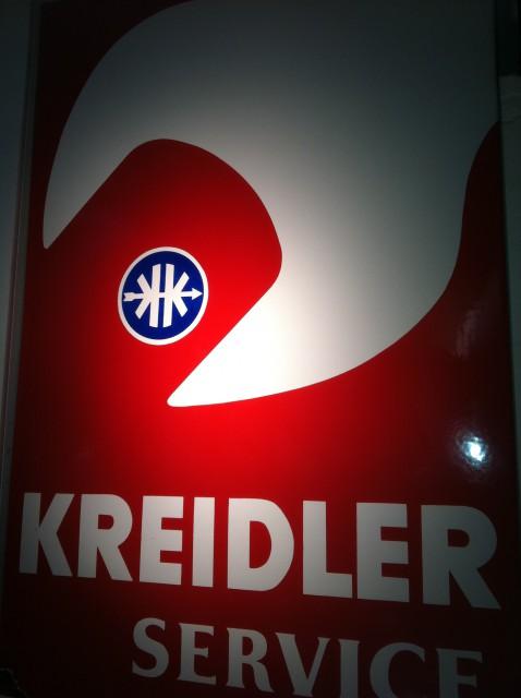 """""""Kreidler Service"""" Emailschild"""