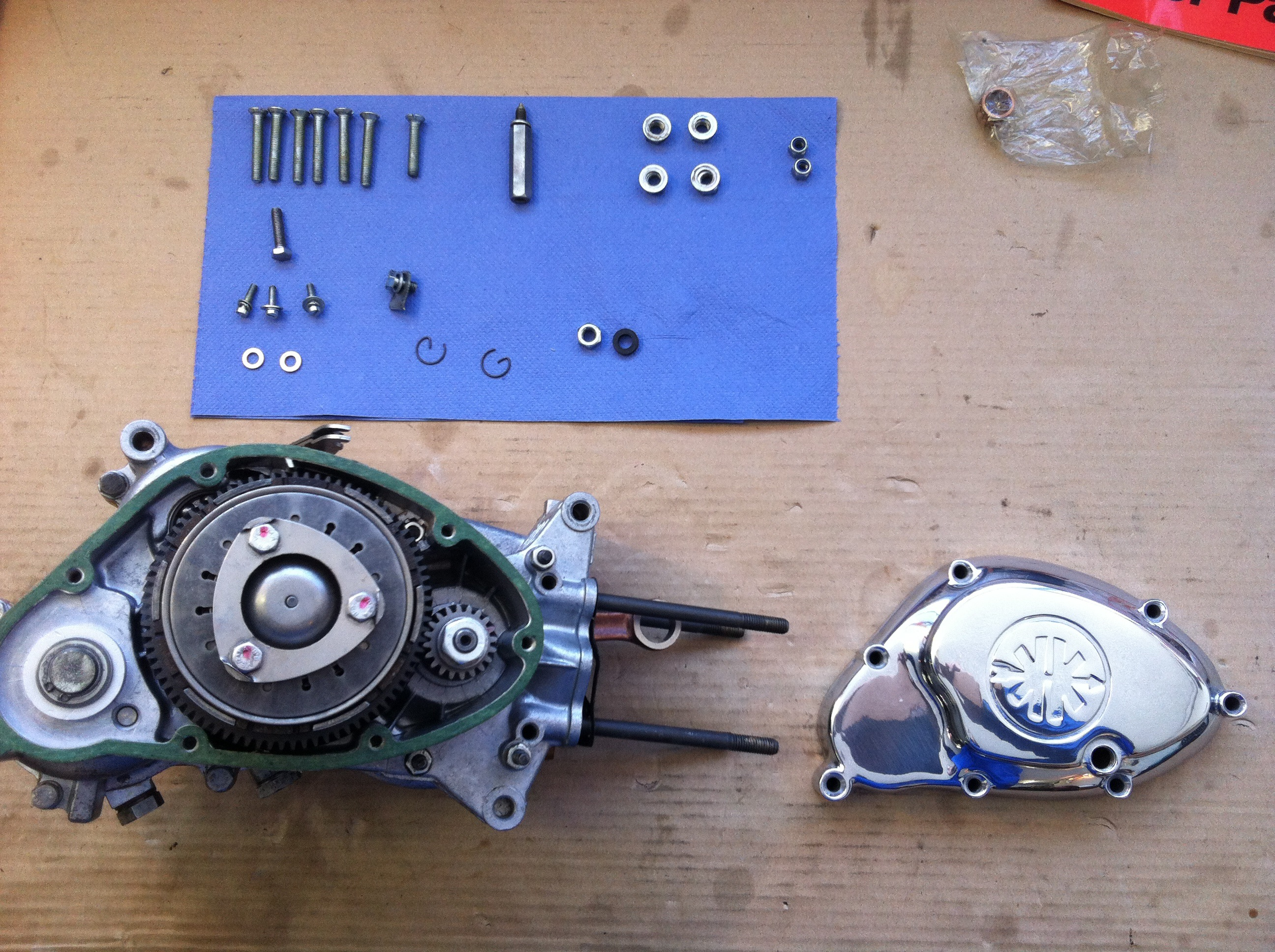 Motorenrevision Kupplung