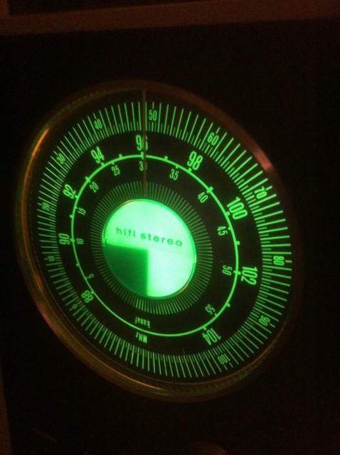 Telefunken Spaceage Radio in funktion